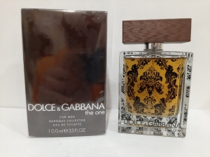 (D&G) The One Baroque For Men LUXE