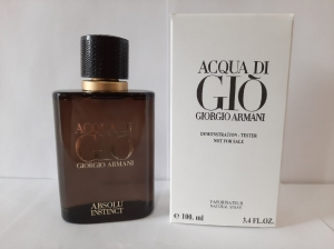 Acqua Di Gio Absolu Instinct 100ml TESTER