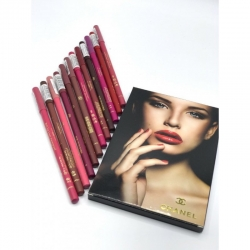 карандаш для губ chanel 12шт (упаковка)