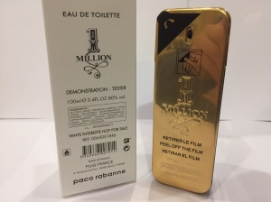 1 Million Paco Rabanne Man 100ml TESTER LUXE