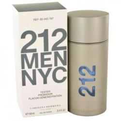 212 Men NYC 100ml EDT Tester (тестер)