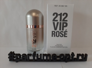 212 VIP Rose 80ml edP tester LUXE