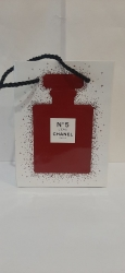 chanel 5 Leau red
