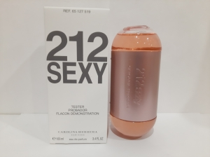 212 Sexy WOMAN EDP TESTER LUXE