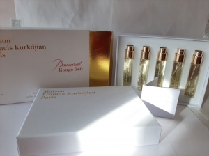 набор 5*11ml trevel LUXE BACCARAT ROUGE 540