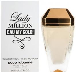 Lady Million Eau My Gold! 80ml edT tester (тестер)