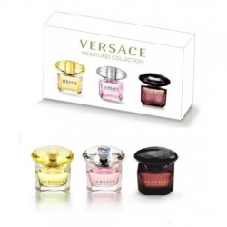 Набор Versace miniatures collection 3 по 15ml