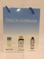 Набор DG Light blue 15ml + Dolce 15ml + DG 3 15ml