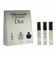 Jadore + Miss Dior Cherrie Leau + Midnight Poison 3*15ml