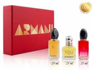 Набор 3 по 25мл Armani woman